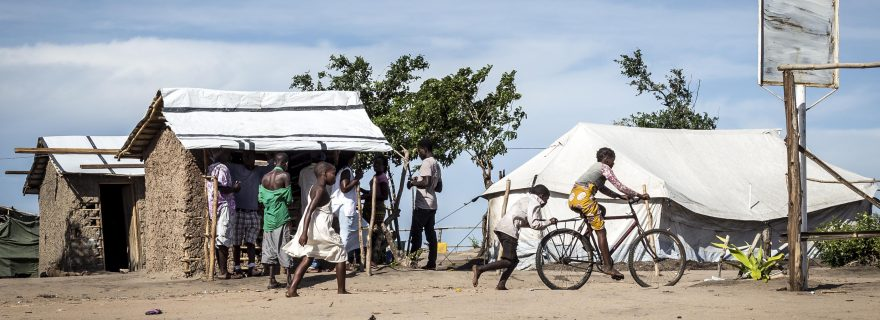 Resettlement after disaster in Mozambique