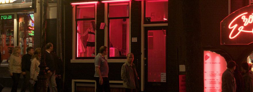 Slow decision making in Amsterdam's red light district