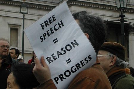 An Embedded Freedom of Speech