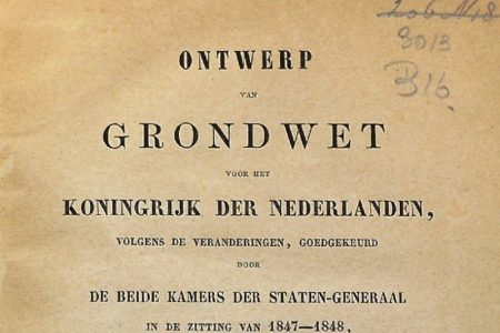 A conference to celebrate our 200 year-old Dutch Constitution.