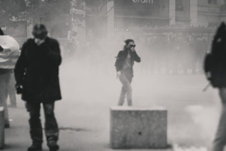 Is there any limitation on the use of tear gas as a Riot Control Agent?